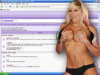 Kelly Kelly Getting Xposed