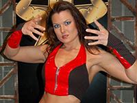 WWE Diva Katherine aka Katie Lea