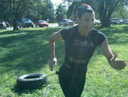 Lisa Marie Varon training